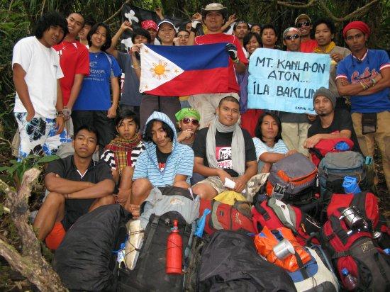 2008 Protest Climb